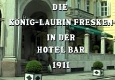 Die König-Laurin-Fresken in der Hotelbar