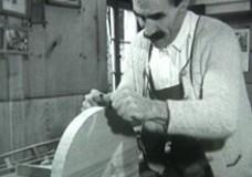 Herstellen einer 'Grambl' – Brotschneider