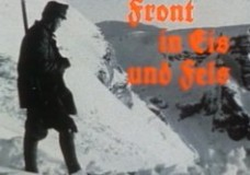 Die Front in Fels und Eis
